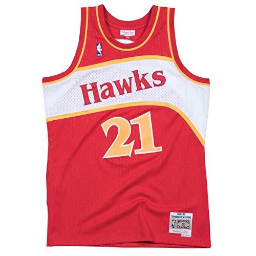Mitchell & Ness Maillot Atlanta Hawks Dominique Wilkins #21