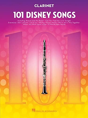 Hal Leonard Publishing Corporation 101 Disney Songs -For Clarinet Bild