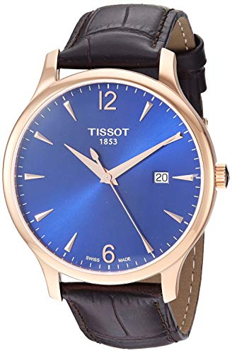 Tissot Men's Tradition Swiss Quartz Stainless Steel Dress Watch (Model: T0636103604700)