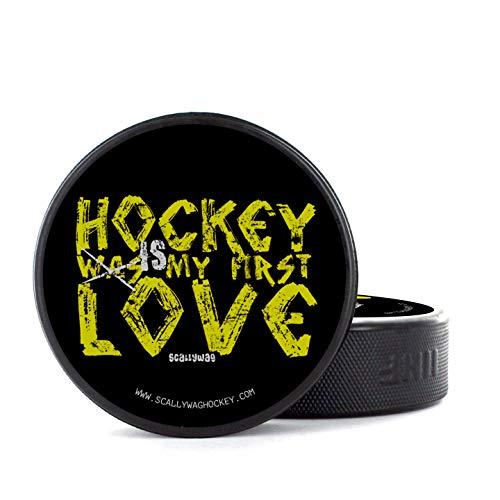 Scallywag® Eishockey Puck Hockey Love I A BRAYCE® Collaboration (Trainingspuck o. Spielpuck)