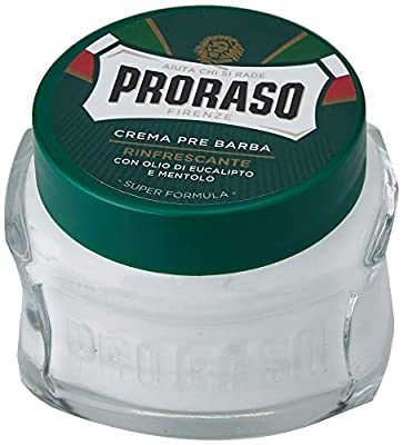 PRORASO Pre Shave Cream, 100 ml, Green