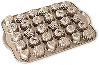 Nordic Ware Cast-Aluminum Nonstick Tea-Cake and Candy Mold(pack of 2)