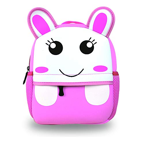 Product Image of the ABkids Toddler Backpack. Supercute Kids Backpack for Boys and Girls - Red Owl