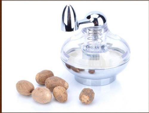 Olayer Nutmeg Spice grinding manualmente ruotato Mill con bottiglia strumenti di cottura