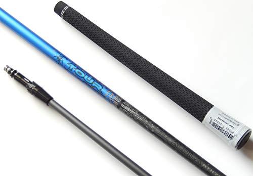 Aldila New Tour Blue 65 Graphite Shaft + Adapter + Grip, Fits Titleist 917D/915D/913D for R/H & L/H (Stiff)