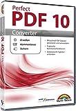 Perfect PDF 10 Converter - PDFs erstellen, konvertieren, schützen, Kommentare hinzufügen, Digitale Signatur einfügen | 100% Kompatibel mit Adobe Acrobat