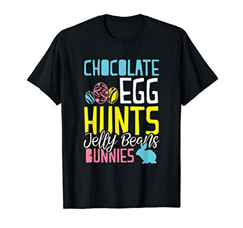 Pasqua coniglietti di uova di cioccolato Maglietta