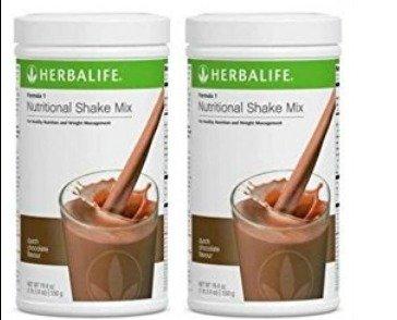 Herbalife Formula 1 Chocolate Cremoso - 2 x 550 g