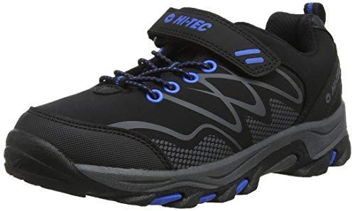 HI-TEC Men's High Rise Hiking Boots, Black Black Blue 21, 38