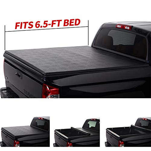 North Mountain Soft Roll Up Tonneau Cover, Compatible with 04-14 Ford 06-08...