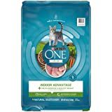 Purina ONE Hairball, Weight Control, Natural Dry Cat Food, Indoor Advantage - 16...