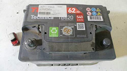 Bateria Usada R Clio I Fase I+ii (b/c57) 62AH 54062AH TUDOR (usado) (id:velop1764922)
