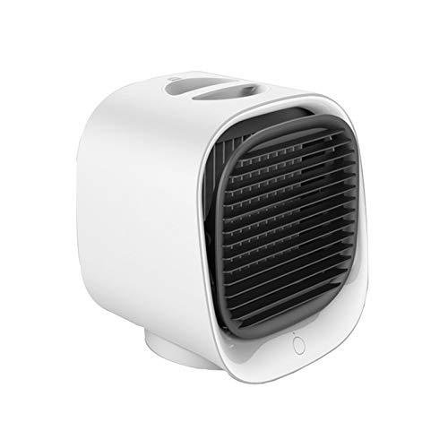 Aire Acondicionado PortáTil,Ventilador De Escritorio,para El Hogar Y La Oficina,Acondicionado PequeñO Air Cooler, 3 Niveles De Potencia,Acondicionador De Aire MóVil