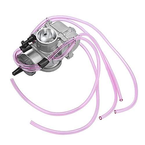 Carburador de motocicleta, modificación universal de carburador de carburador de motocicleta ATV 38 mm/40 mm apto para KEIHIN PWK(40)