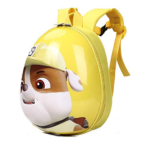 CHDJ Hard Shell Waterproof Toddler Backpack Cute Cartoon PAW Patrol Preschool Backpack for Kids