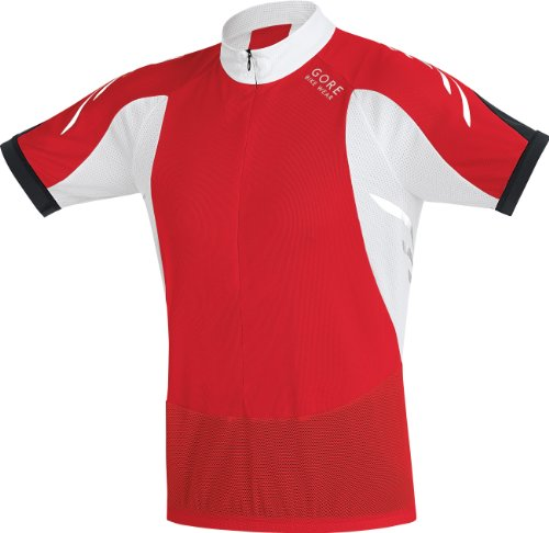 Gore Bike WEAR Herren Shirt Xenon II, red/White, S, 0_3501
