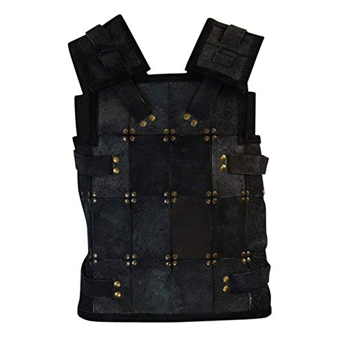 EPIC ARMOURY UNLIMITED- RFB Fighter Leather Armor - Black X-Large