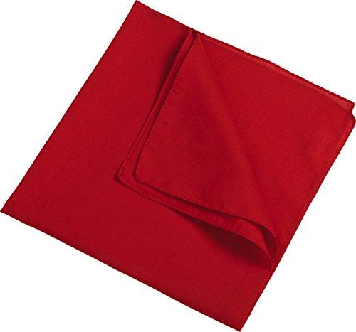 Myrtle Beach Bandana Kopftuch, Biker Tuch, Piratentuch, viele Farben Rot,1 St?ck