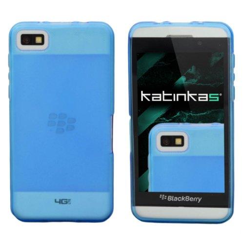 Katinkas Soft Cover per Blackberry Z10, Blu