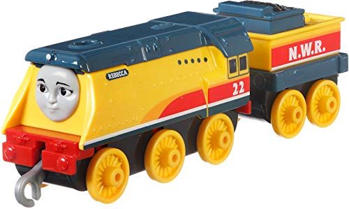 Thomas & Friends- FXX27 Thomas_&_Friends Trackmaster Empuje a lo Largo de Rebecca Metal Tren Motor, Multicolor (Mattel , color/modelo surtido