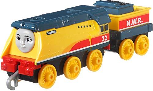 Thomas & Friends- FXX27 Thomas_&_Friends Trackmaster Empuje a lo Largo de Rebecca Metal Tren Motor, Multicolor (Mattel , color/modelo surtido