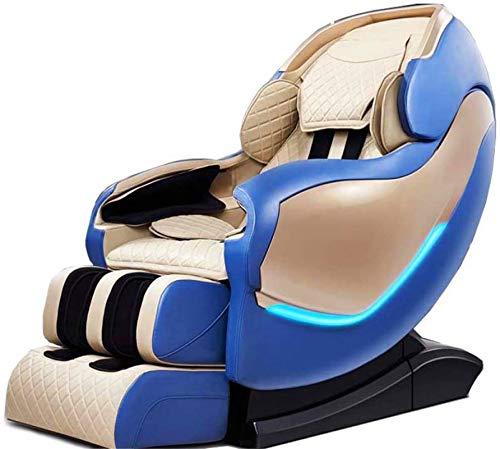 Sillón de masaje Masaje, Todo el cuerpo de la guía inteligente eléctrica Sofá Sl Rail Manipulador de cabina Espacio Hogar Multi-funcional de lujo sillas de oficina silla de masaje con apoyabrazos / Az