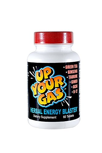 Up Your Gas Energy Blaster Tablets, 60-Count Bottles (Pack of 2)