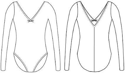 Ladies Capezio 126 Classic Long-sleeve Leotard Capezio Classic