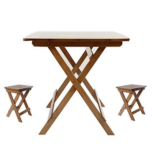 GXCGT Bureau, van hout, inklapbare tafel van bamboe, in X-vorm, draagbaar, stevige hardware, 150 kg, tafellaadstation voor bureau, inklapbaar, hoge weerstand
