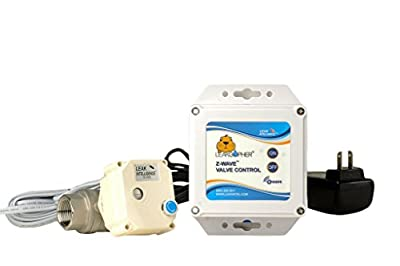 """Z-Wave 1"""" Valve Water Control Valve by Leak Intel, Z-Wave Plus, NSF Certified, USA MADE, 10 Year Manufacturer's Warranty from Leak Intel"""
