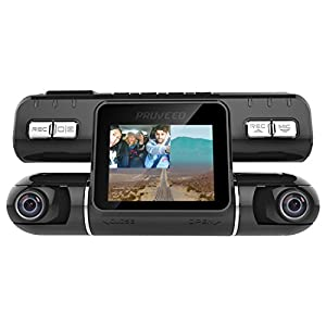 Pruveeo MX2 Dash Cam Front and Rear