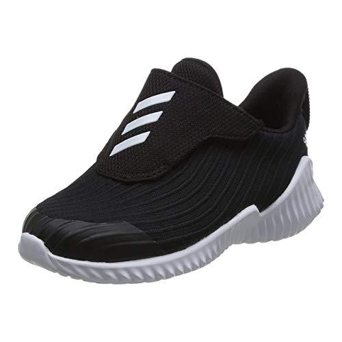 Adidas Fortarun AC I, Zapatillas para Correr Bebé-Niños, Core Black/FTWR White/Core Black, 23 EU