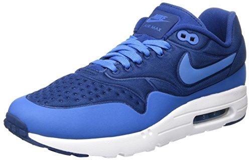 Nike Herren Air Max 1 Ultra SE Low-Top, Blau (Coastal Blue/Coastal Blue/weiß/Star Blue), 42.5 EU