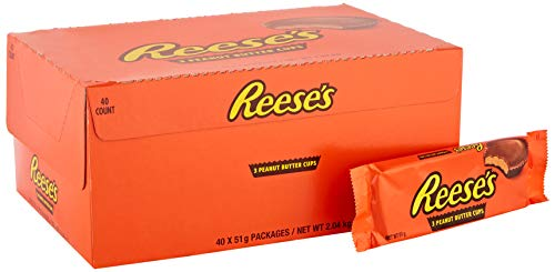 40 x Chocolade Repen Reese's Peanut Butter Cups 51gr