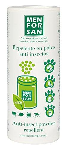 Champú en polvo 250g repelente de insectos para mascotas