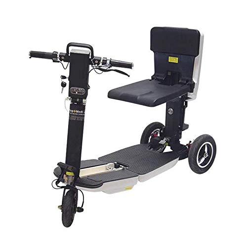 LLPDD elektrische mobiliteit scooter 3-wiel volwassenen scooter opvouwbare koffer