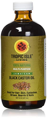 Great Features Of Tropic Isle Living Jamaican Black Castor Oil, Glass Bottle (8 Ounce)