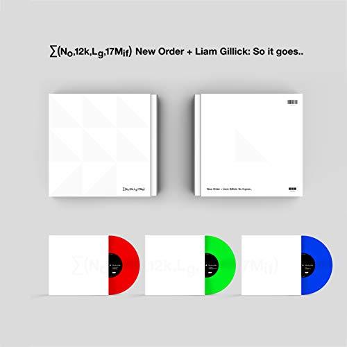 (no,12k,lg,17mif) New Order + Liam Gillick: So It Goes [Disco de Vinil]