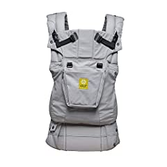 "SIX POSITIONS: The LÍLLÉbaby COMPLETE baby carrier combines all essential features, including lumbar support, in 1 light-weight carrier with 6 ergonomic positions for ""360 degree"" carrying: Front: fetal, infant, outward & toddler; Hip carry; & Back c..."