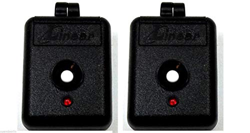 Linear 2-Pack DNT00026 Delta3 Mini Keychain Garage Gate Remote DT Lady Bug 310m