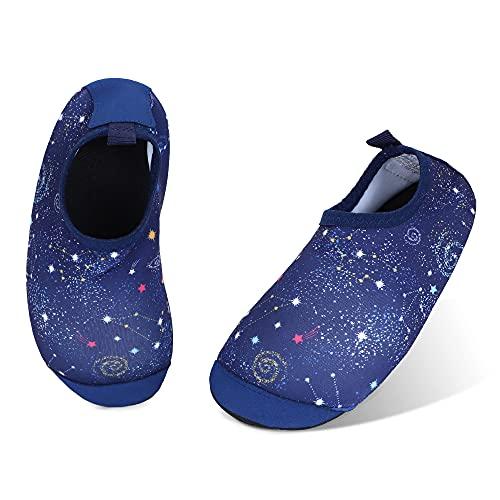 TIZAX maluch chłopcy dziewczęta buty na wodę dzieci boso skarpetki wodne dla dzieci antypoślizgowe letnie buty do chodzenia na plażę / basen / pływanie