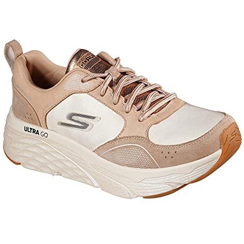 Skechers Performance Womens MAX Cushioning Elite Premium Sneakers Damen Braun, Schuhgröße:38 EU