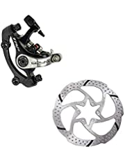 Tarcza hamulcowa rowerowa stop mechaniczny zacisk hamulca tarczowego SPYRE zaciski przedni/tył/para W/lub W/o 160 mm wirnik ze śrubami adapterowymi