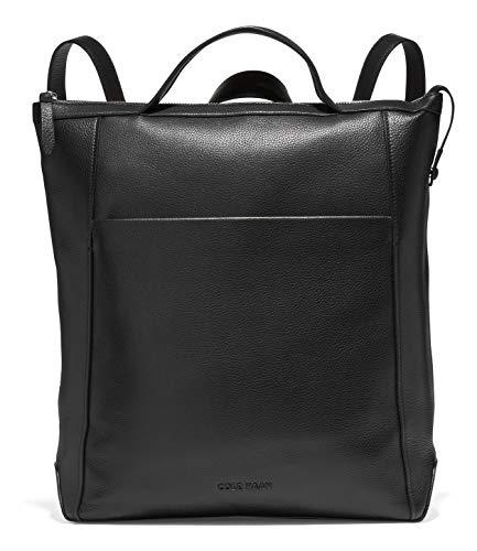 Cole Haan womens Gr Amb Lthr Backpack shoulder handbags, Black, Regular US
