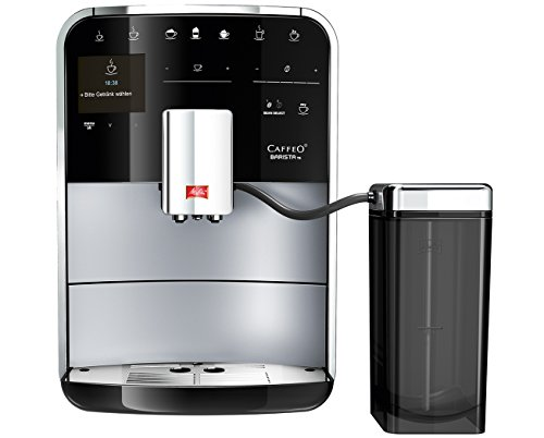 Melitta F75/0-102 Caffeo Barista TS Fully Automatic Coffee Maker, Recipe Book - Black