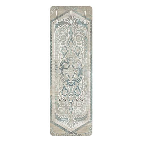 Bilderwelten Garderobe Garderobenpaneel mit Haken - Holzpaneel Persisch Vintage IV 139 x 46cm