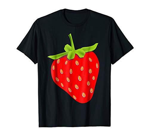 Strawberry Halloween Costume T-Shirt Fruit Salad Men Women