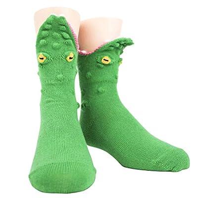 Foot Traffic Youth 3D Socks, Fits Kids' Shoe Sizes 12-5Y
