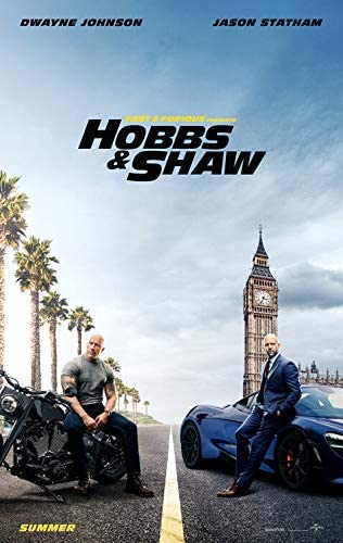 """HOBBS & SHAW 27""""x40"""" D/S Original Movie Poster One Sheet Fast & Furious THE  ROCK Dwayne Johnson Jason Statham 2019 at Amazon's Entertainment  Collectibles Store"""