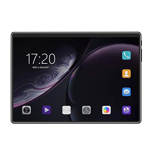 Kamenda - Tabletas de 10 pulgadas, Android para niños, pantalla HD, teléfono móvil, doble tarjeta SIM, Wi-Fi, GPS, tablet, Android, color negro
